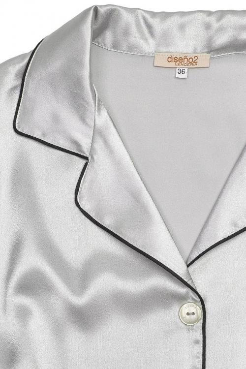 detalle Evros gris perla /negro